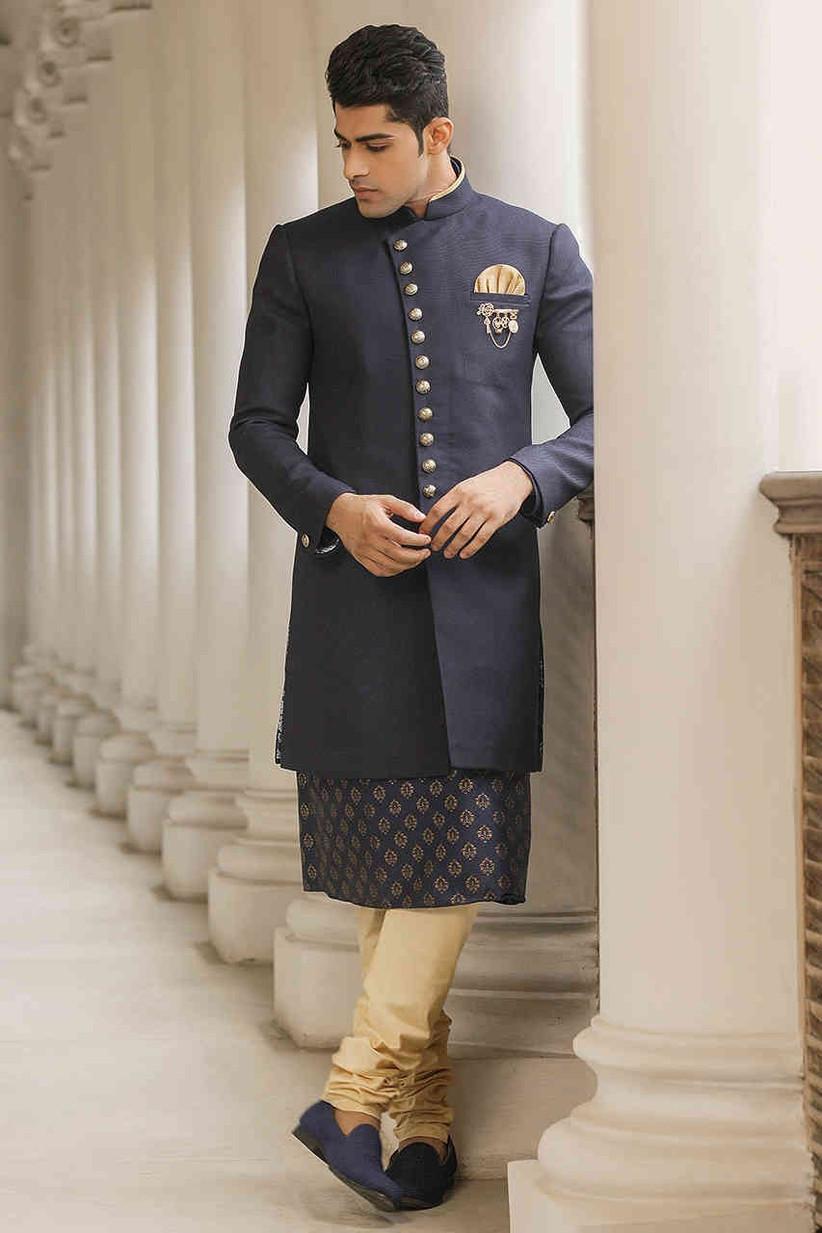 indo western Jodhpuri Suits for Wedding