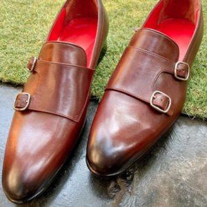 monk strap groom shoes for sherwani