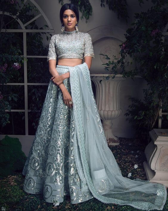 powder blue theme wedding colors
