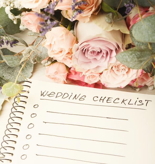 ultimate wedding planner cost checklist